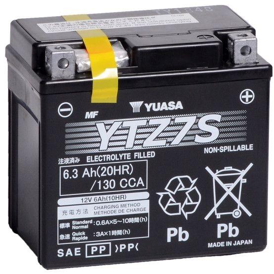 Baterie Moto fara intretinere 12V 6Ah L 113 l 70 H 105 [0]