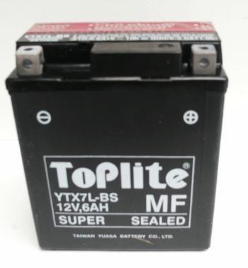 Baterie Moto fara intretinere 12V 6Ah L 114 l 71 H 131 [0]