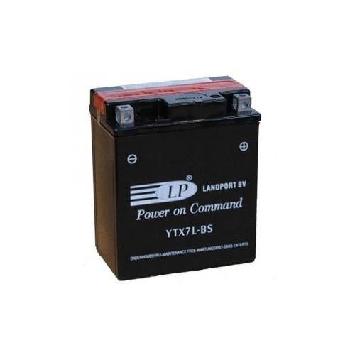Baterie moto LANDPORT 6Ah YTX7L-BS 0