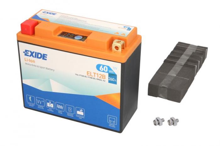 Baterie moto Lithium-ion/fara intretinere EXIDE 12V 60Wh 260A L+ 150x65x130   0