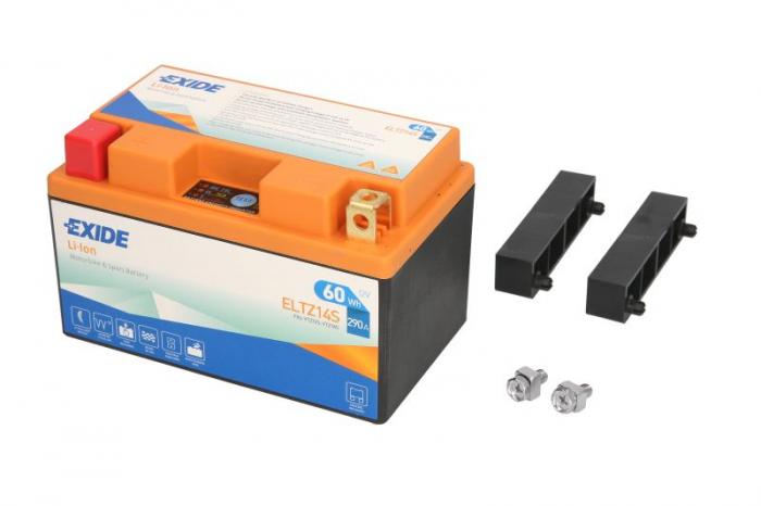 Baterie moto Lithium-ion/fara intretinere EXIDE 12V 60Wh 290A L+ 150x87x93    0