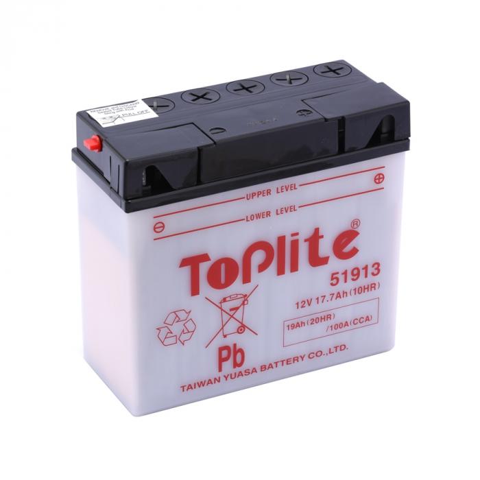 Baterie Toplite Yuasa - BMW 51913 19AH (cu intretinere, nu include acid) 0