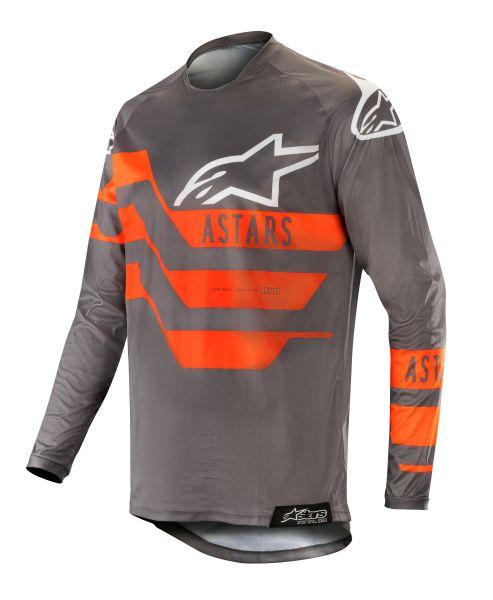 Bluza off-road ALPINESTARS MX RACER FLAGSHIP culoare negru/fluorescent/gri/portocaliu, marime L 0