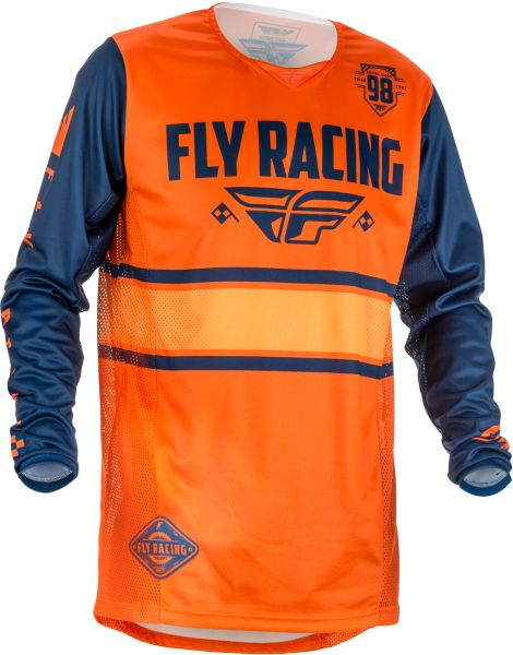 Bluza off-road FLY RACING KINETIC ERA culoare portocaliu, marime XL 0