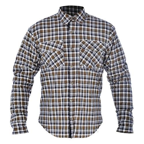 Camasa KICKBACK OXFORD culoare khaki/alb, marime XL 0