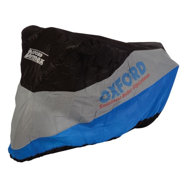 Dormex sac dimensiunea motocicleta M albastru argintiu negru 0