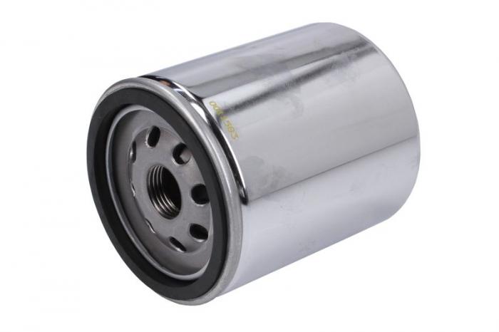Filtru ulei moto crom filtet de 17mm HARLEY DAVIDSON Hiflo HF171CRC 0