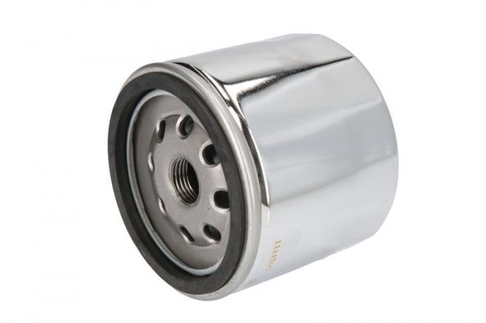 Filtru ulei moto crom HARLEY DAVIDSON Hiflo HF172C [0]