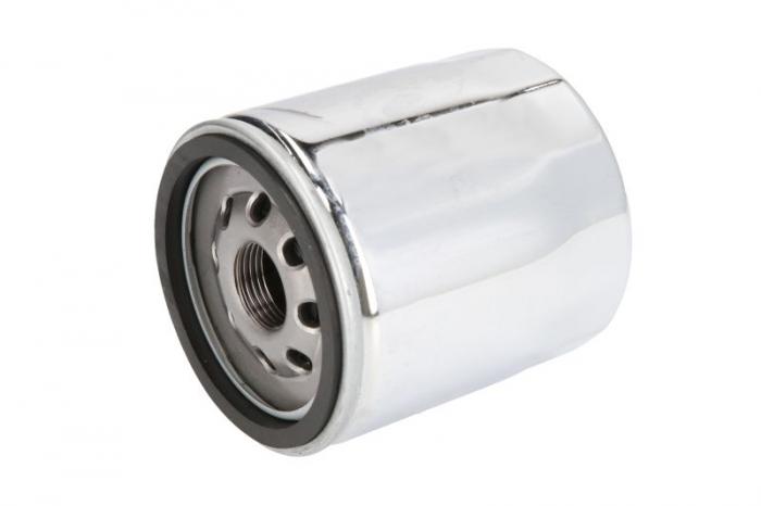 Filtru ulei moto crom HARLEY DAVIDSON Hiflo HF174C [0]