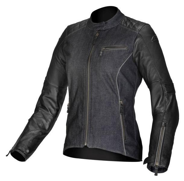 Geaca piele/textil ALPINESTARS RENEE culoare negru, marime 42 0