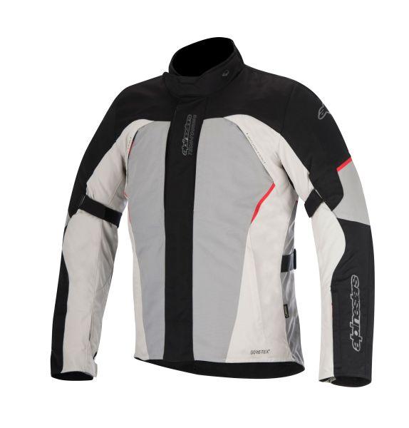 Geaca textil ALPINESTARS ARES GORE-TEX culoare negru/gri/rosu, marime L 0