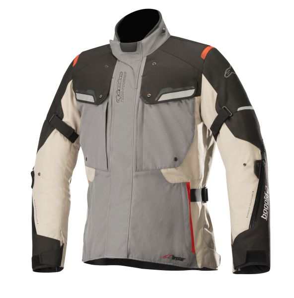 Geaca textil ALPINESTARS BOGOTA V2 DRYSTAR culoare bej/gri, marime XL 0