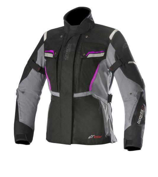 Geaca textil ALPINESTARS STELLA BOGOTA V2 DRYSTAR culoare negru/gri/violet, marime M 0