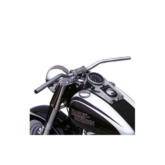 Ghidon moto 25.4mm cromat 0