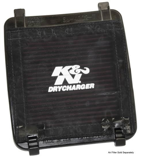 Husa filtru aer rezistenta apa, culoare negru ARCTIC CAT DVX; KAWASAKI KFX; SUZUKI LT-Z 400 dupa 2003 [0]