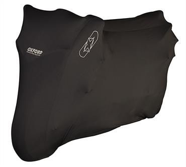 Husa protectie motocicleta OXFORD PROTEX STRETCH Indoor CV1 culoare negru, marime S [0]