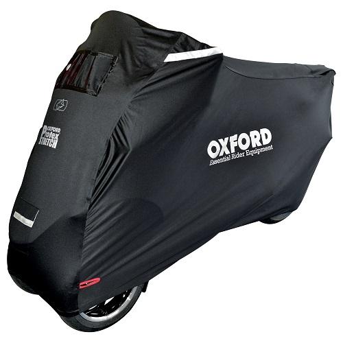Husa protectie motocicleta OXFORD PROTEX STRETCH Outdoor CV1 culoare negru- rezistenta la apa - Copie [0]