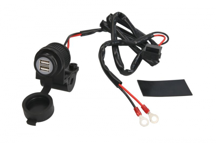 Incarcator USB Oxford Port Dual Weatherproof (5V 2Amp) [0]