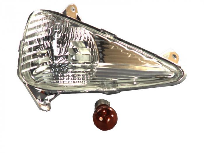Lampa semnalizare moto fata, dreapta  (transparent) HONDA CBF, XL 600/1000 dupa 1999 [0]