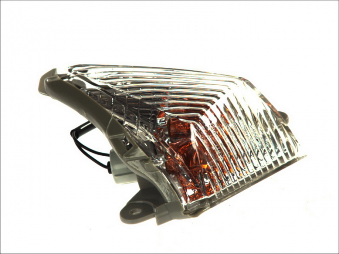 Lampa semnalizare moto fata, dreapta  (transparent) KAWASAKI ER-6F, GTR, Z, ZX-10R, ZX-12R, ZX-6R, ZZR 600-1400 dupa 2006 [0]