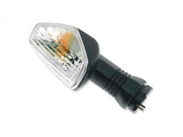 Lampa semnalizare moto fata/spate, stanga/dreapta  (culoare alba) KAWASAKI KLE, Z, ZX-10R, ZX-6R 600-1000 dupa 2008 [0]