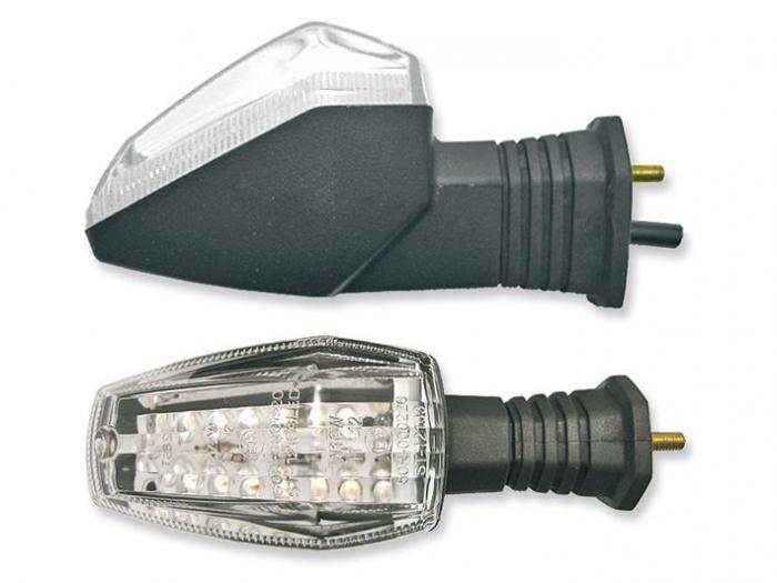 Lampa semnalizare moto fata/spate, stanga/dreapta  LED  (transparent) SUZUKI GSX-R 600/750/1000 dupa 2003 [0]