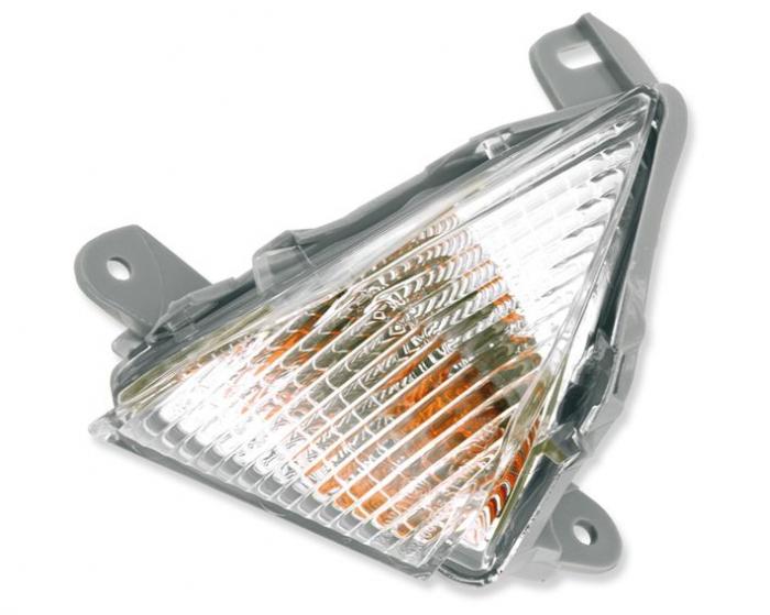 Lampa semnalizare moto fata, stanga (transparent) KAWASAKI ER-6F, GTR, Z, ZX-10R, ZX-12R, ZX-6R, ZZR 600-1400 dupa 2006 [0]