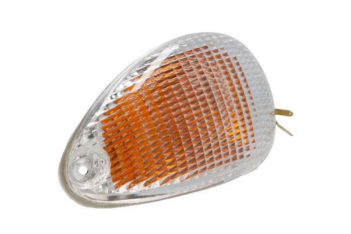 Lampa semnalizare moto spate, dreapta (culoare alba) PIAGGIO VESPA ET4 50 125 150 dupa 1999