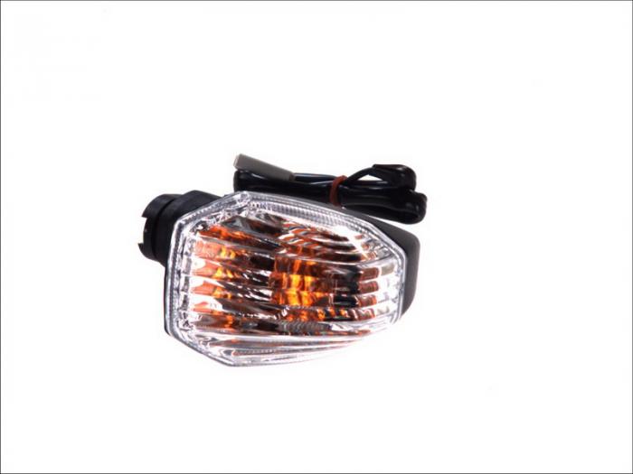 Lampa semnalizare moto spate, stanga (transparent) KAWASAKI ER-6F, ER-6N 650 dupa 2005 [0]