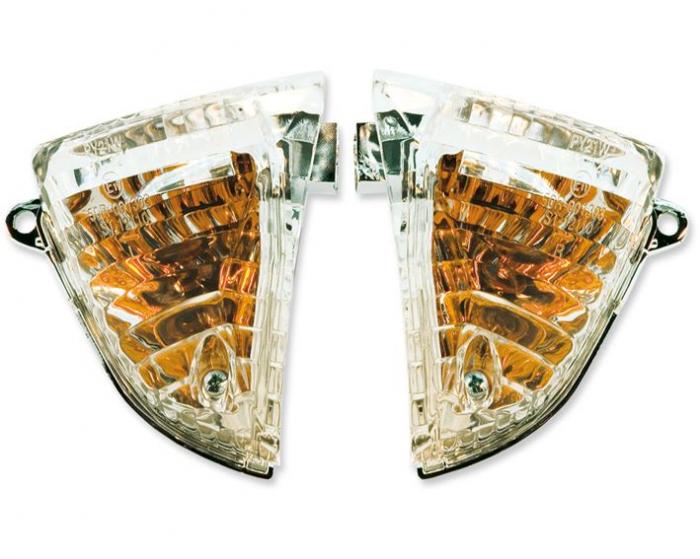 Lampa semnalizare moto spate, stanga (transparent) SUZUKI GSX-R 600/750 dupa 2006 [0]