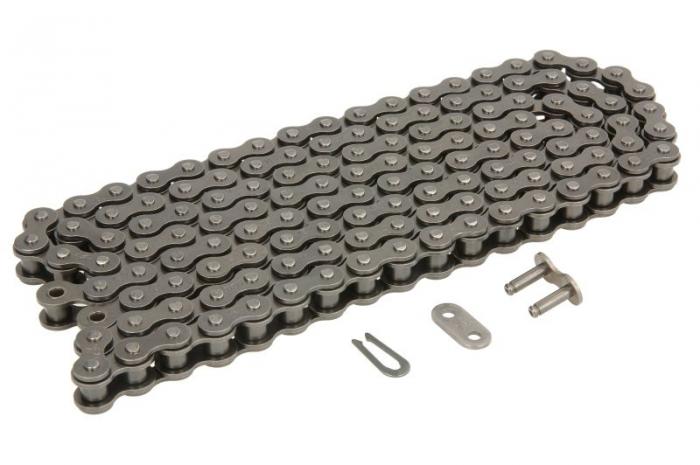 Lant 420 D standard, numar zale 132 fara o-ring negru, conexiune tip pin APRILIA RS, RS4, RX, SX; DERBI GPR; RIEJU MRT; YAMAHA TZR 50/125 dupa 1997 [0]