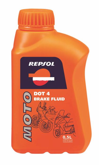 Lichid frana DOT4 0,5L, Repsol 0
