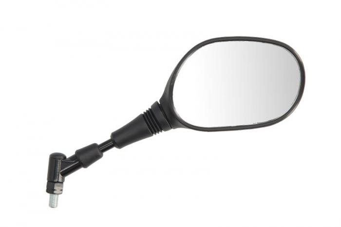 Oglinda dreapta, diametru 10mm, partea stanga, culoare negru YAMAHA MT-03, XT, YBR 125/660 dupa 2004 [0]