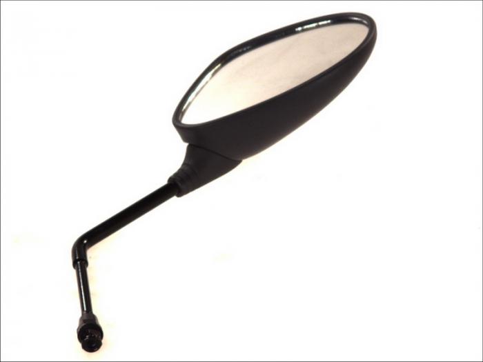 Oglinda dreapta, diametru 8mm, partea dreapta, culoare negru PEUGEOT LOOXOR, VIVACITY 50/100/125 dupa 2000 [0]