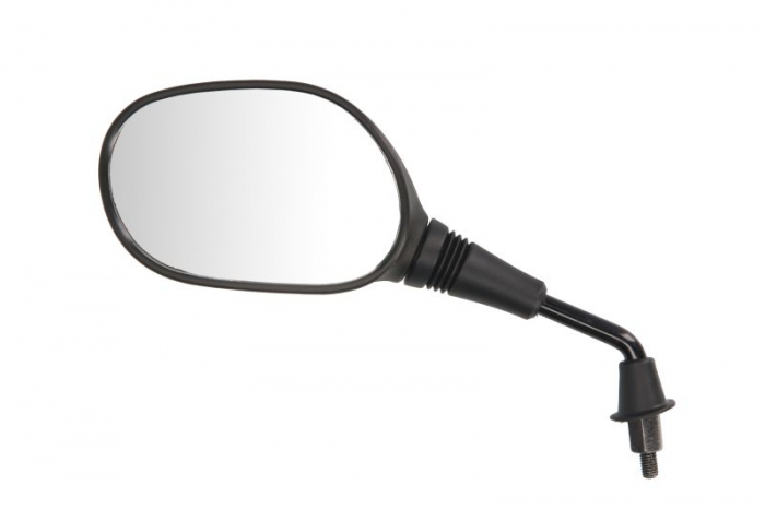 Oglinda stanga, diametru 8mm, partea dreapta, culoare negru KYMCO FILLY, PEOPLE, SCOUT, ZX; RIEJU PACIFIC, TOREO 50/125 dupa 1995 [0]
