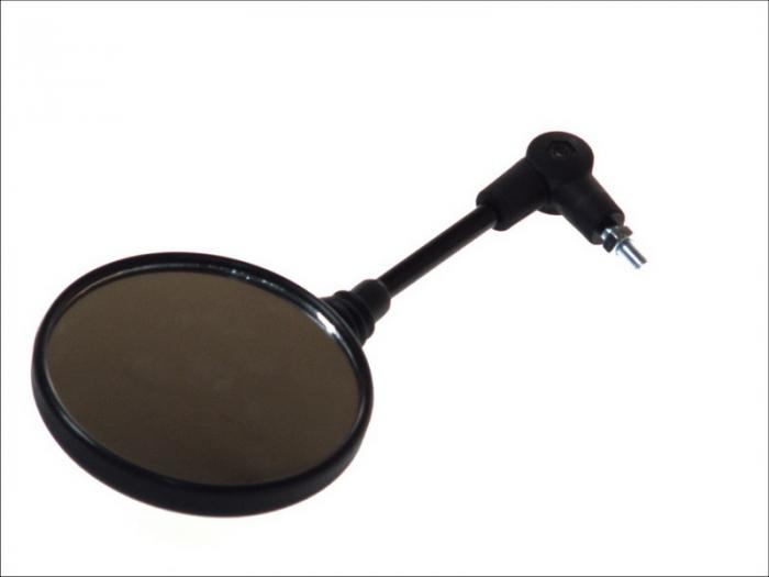 Oglinda universal, diametru 8mm, partea dreapta, culoare negru [0]
