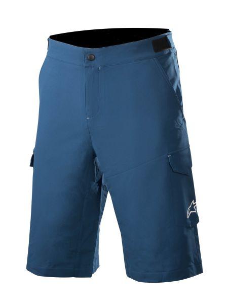 Pantaloni scurti bicicleta ALPINESTARS ROVER 2 culoare albastru/alb, marime 32 0