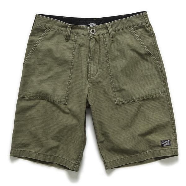 Pantaloni scurti RANK & FILE ARMY ALPINESTARS culoare verde, marime 36 0