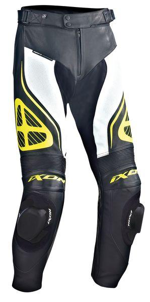 Pantaloni sport IXON ORCUS culoare negru/alb/galben, marime L 0