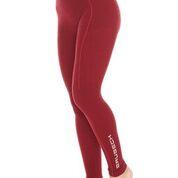 Pantaloni termoactiv BRUBECK EXTREME WOOL culoare rosu, marime L 0