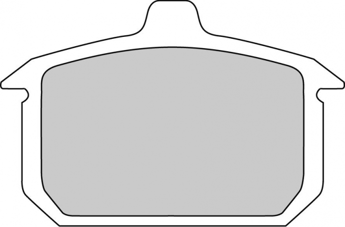 Placute frana moto HARLEY DAVIDSON FDB335P [0]