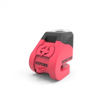 Protectie Antifurt OXFORD Scoot XD5 5mm blocare disc Culoare Roz 0