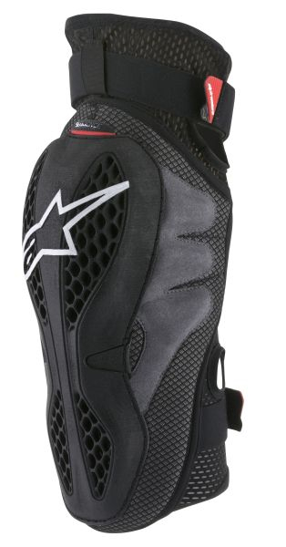 Protectie genunchi ALPINESTARS MX SEQUENCE culoare negru/rosu, marime 2XL 0