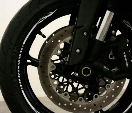 Rim Stripes moto Albastru Model2 0