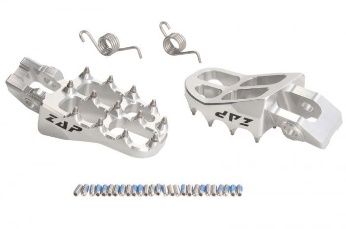 Scarita moto sustinere  (culoare negru, aluminiu;  contine cuplaje) HUSQVARNA FE, TC, TE; KTM EXC, SX, SX-F 125/450 dupa 2016 [0]