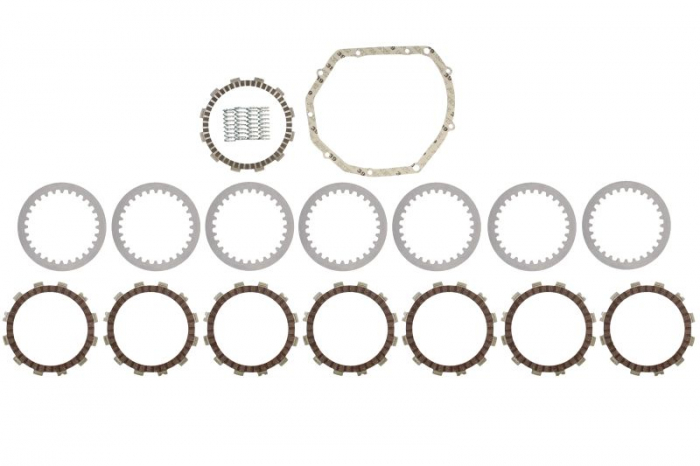 Set complet ambreiaj (disc, separator, arcuri) SUZUKI GSX 600/750 dupa 1998 [0]