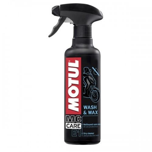 Solutie curatare si lustruire, Motul Wash & Wax E1, 400ml 0