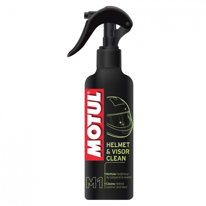 Solutie curatat casca MOTUL HELMET VISOR CLEAN 0,25l 0