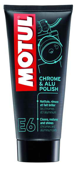 Solutie curatat crom si metal Motul Chrome&Alu Polish E6 0,1l  0