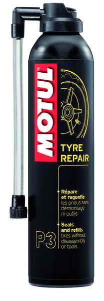 Solutie rapida reparat pana moto, Motul Tyre Repair P3, 300 ml 0